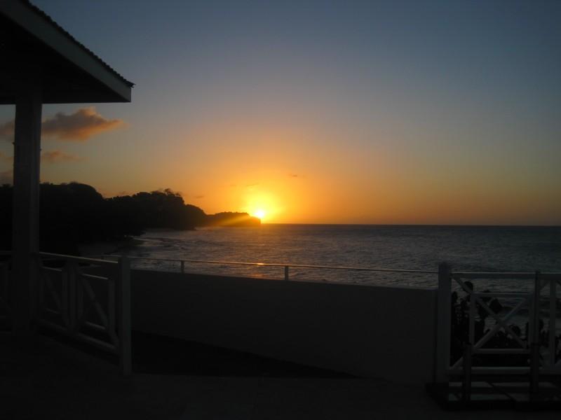 Sunset in Grenada!