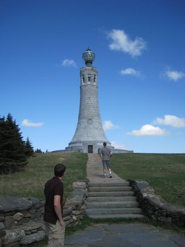 War Memorial on top of Mount Greylock.