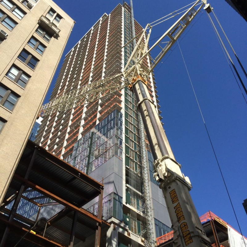 43 story tower at 31st street.