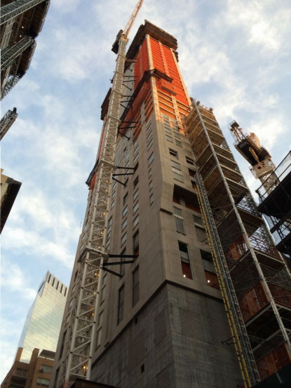 Poured 41st floor the other day. 30 floors to go.