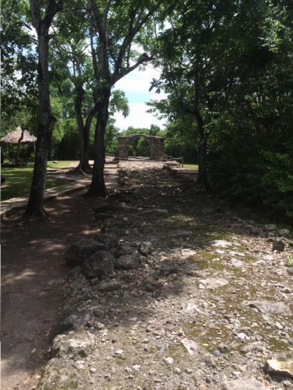 Ancient Mayan Road