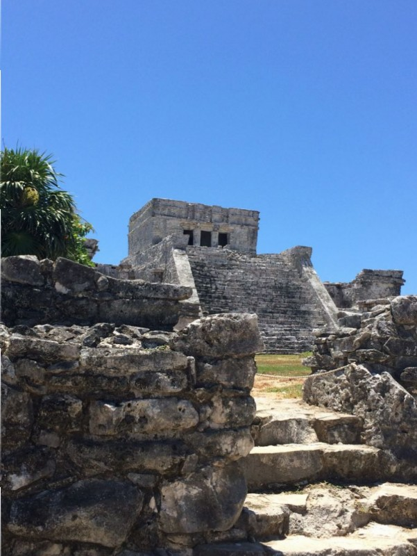 The main structure a Tulum.